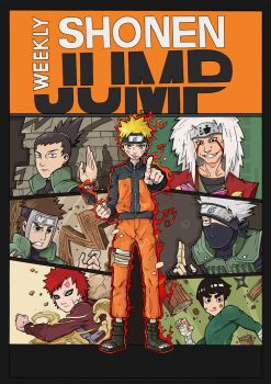 Naruto Cover Color by pan10