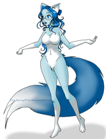 Blue Fox Isaliv by TheJennyPill