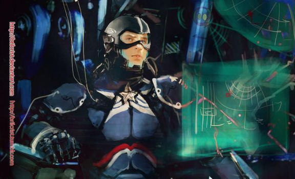 Marvel x pacific rim: Steve Rogers02 by Brilcrist
