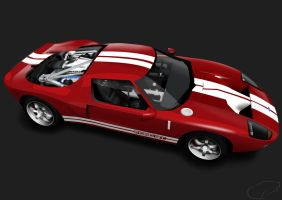 Ford GT Vector - Cutaway by Rs200