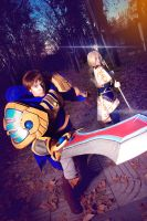 Lux and Garen - Stay Back - League of Legends by NunnallyLol