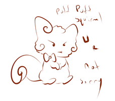 Puff Puff Squirrel by Ambercatlucky2