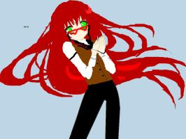 Grell Base, this time with glasses by AstellaMichaelis51