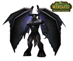 WoW Demon Hunter Cut Out by atagene
