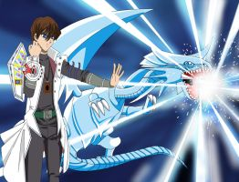 Seto kaiba the white dragon master by HAMZAALGERIANIMART