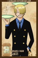 EPP - Romance Dawn: Sanji by SergiART