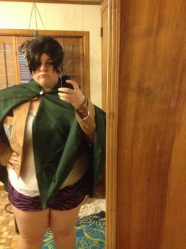 Levi cosplay WIP by sokailover
