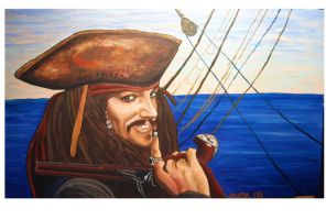 jack sparrow1 by ruckysart