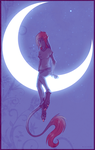 Sitting on the Moon by LiLaiRa