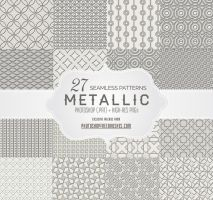 27 Free Seamless Embossed Metallic Gray Patterns by fiftyfivepixels