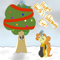 Happy Hearth's Warming! by TastyPony