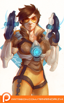 Patreon - Tracer by RinRinDaishi