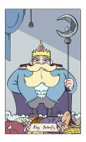 King Butterfly Card by HairyFood