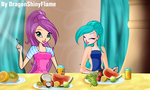 Winx: The Magical Food by DragonShinyFlame