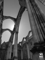 Ruins of the Carmo Convent, Lisbon #3 by ViniVix
