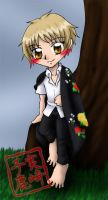 Commission: Natsume Bookmark by kojika