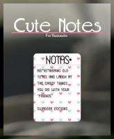 Cute Notes by swaggereditons