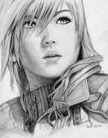 Lightning. It flashes bright, then... fades away. by Anadia-Chan