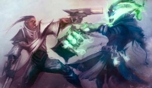 League of Legends Rivals: Thresh vs Lucian by Aths-Art