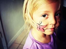 Butterfly FacePaint by GorgeousSoul