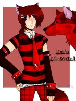Kashu CrimsonTail by kagomelovesinu
