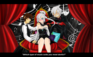 Which type of music suits you most? :AT: by Martyna-Chan