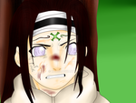 Neji - Hiding by Kali15