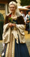 RennFaire Rose Lady STOCK by Ghost-Rebel-Stock