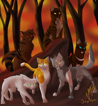 The Villains of the Dark Forest by DrakynWyrm