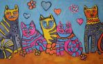 valentine cats by ingeline-art
