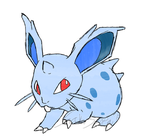 Draw'em All Challenge: 029 Nidoran(F) by Saku-Senpai