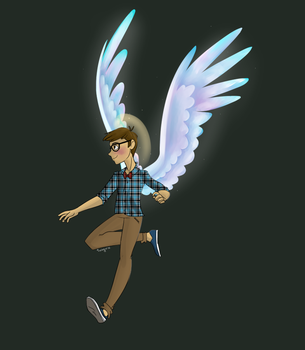 Hipster Angel by solstjarn