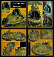 My Latest 12th Scale Water Features by Forestina-Fotos