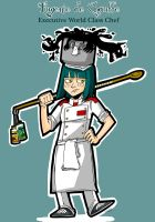 COOKING WARS: Chef Eugenie by ToxicToothpick