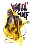 Howlin' Wolf by michaelfirman