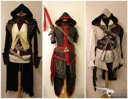 Assassins Creed Trio by ImaginaryCostume