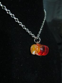 Matinee Length 'Butter Beer' Necklace by SnowBunnyStudios