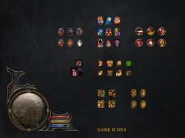 Game Icons by graphicsnme