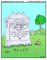 P.T. Barnum Tombstone by Conservatoons