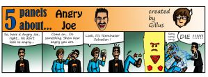 5P about Angry Joe by Gillus99