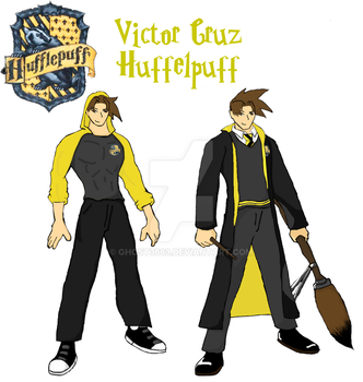 Victor Cruz, Hufflepuff Seeker by Ghost3663