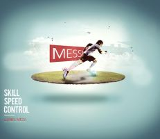 Messi Poster by alfala7i