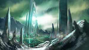Alien City by rashomike