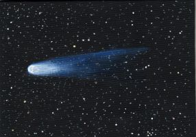 Halley's Comet by Chr-ali3