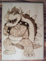 Bowser Woodburning by RichardJK18