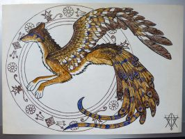 On Wings of Gold: Simurgh - Kumai by Ratshaman