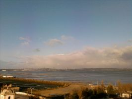 The Clouds and Me - The River Tejo 2008-03 by Kay-March