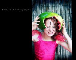Watermelon fun 2 by tracieteephotography