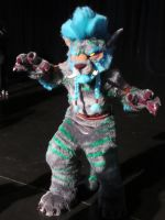 Cosplayers: Troll Druid Cat Form by LanceOmikron