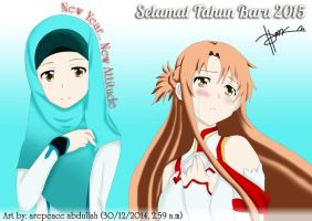Asuna Changes by arepeace-abdullah